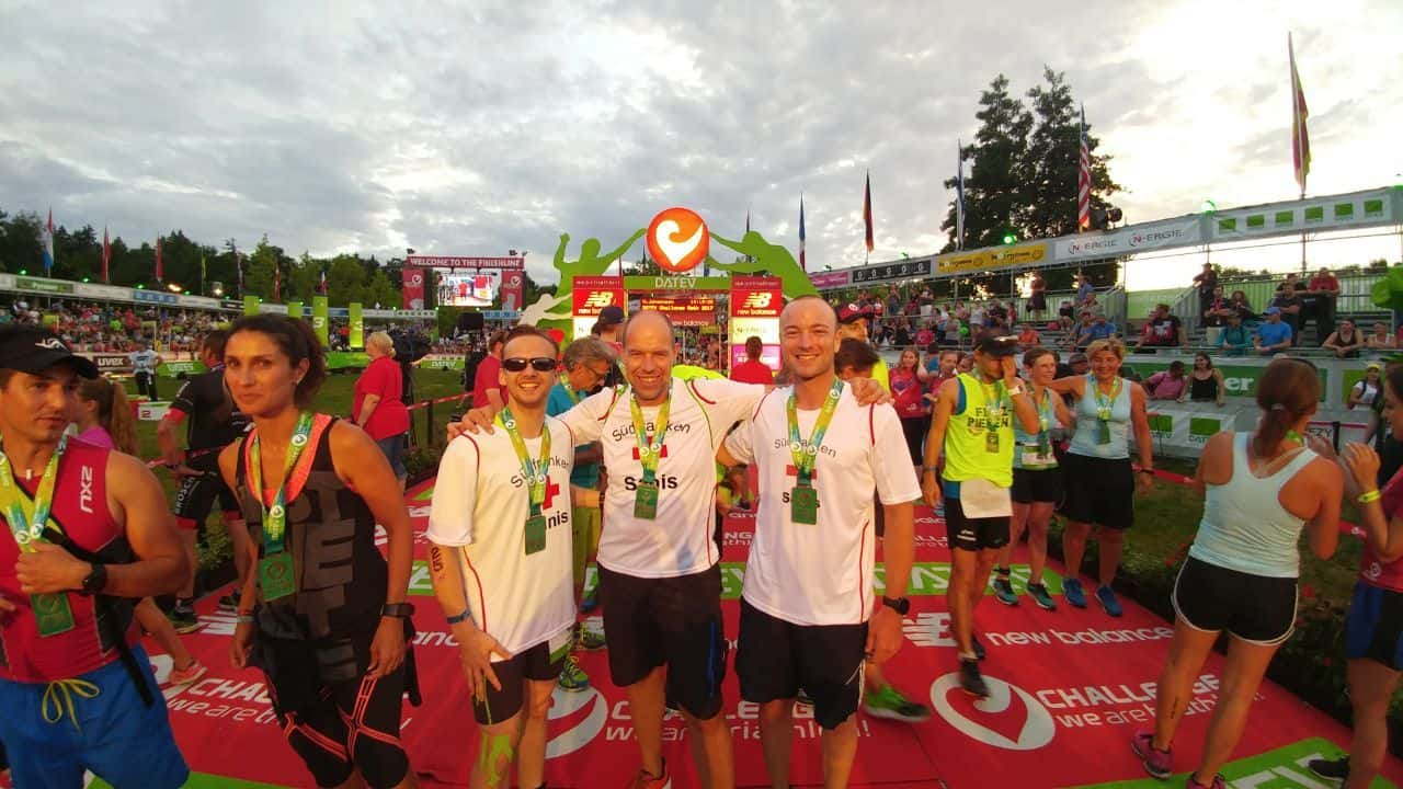 "Finisher Triathlonstaffel ""Sanis""2"